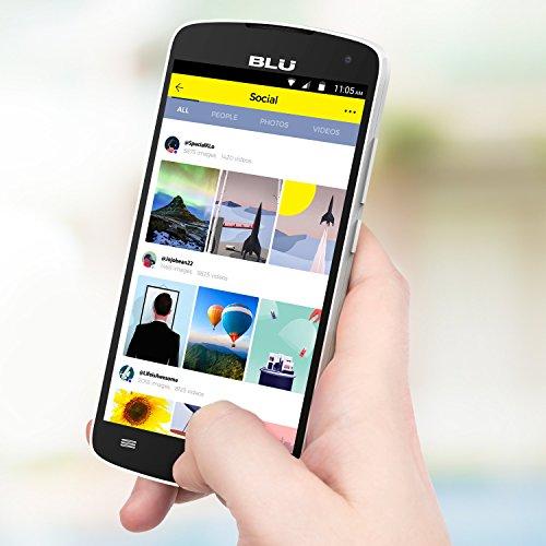 BLU Studio X8 HD - 5.0'' GSM Unlocked Smartphone -White by BLU (Image #4)