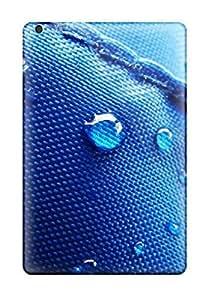 Premium Drops On Texture Back Cover Snap On Case For Ipad Mini/mini 2