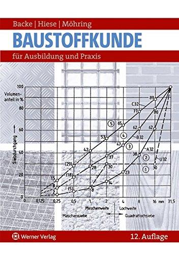 Baustoffkunde: für Ausbildung und Praxis Taschenbuch – 2013 Hans Backe Wolfram Hiese Rolf Möhring Bundesanzeiger