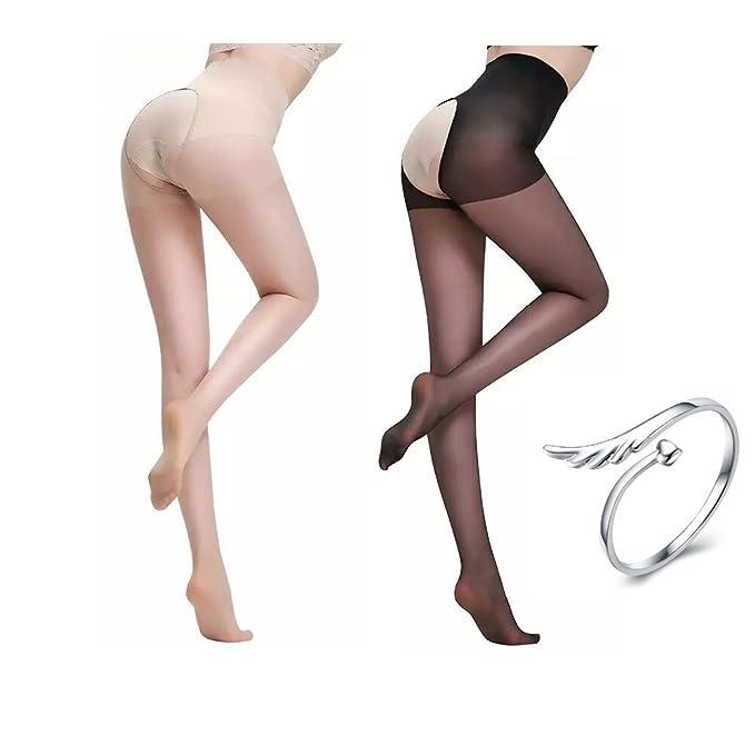 No crotch seam pantyhose
