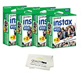Fujifilm instax Wide Instant Film 8 Pack (80 Exposures) for use with Fujifilm instax Wide 300, 200, and 210 Cameras …