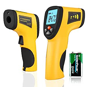 Infrared Thermometer Test Kitchen