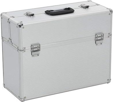 vidaXL Caja de Herramientas de Aluminio Accesorios Taller ...
