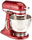 kitchenaid 5qt artisan - KitchenAid RRK150GD Artisan Series Stand Mixer, 5 quart, Grenadine (Certified Refurbished)