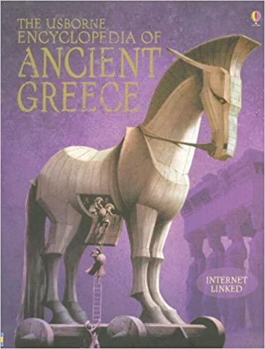 The Usborne Encyclopedia Of Ancient Greece Internet Linked Jane