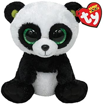 Ty Beanie Boos Bamboo 7136907 Plush Panda Large by Ty  Amazon.co.uk  Baby 3db55d7a055
