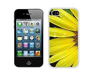 Sunflower Flower Mobile Wallpaper White iPhone 4 4S Screen Phone Case Lovely and Popular Design