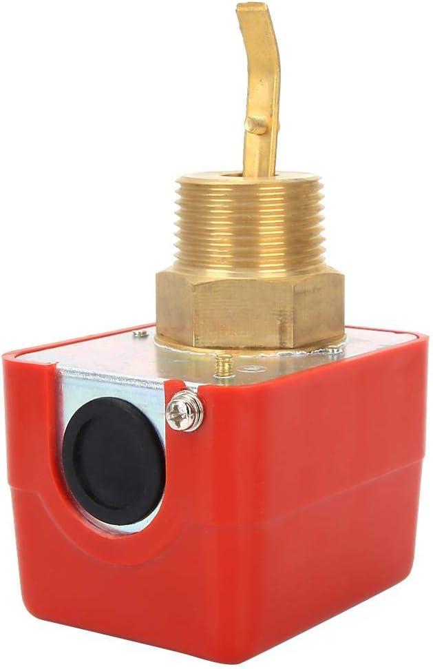 Interrupteur de d/ébit deau 250 VAC Contact SPDT Rouge avec 5 pi/èces cibles
