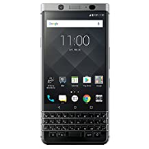 BlackBerry KEYone (Silver)  Unlocked Android Smartphone 4G LTE, 32GB – Compatible with Canadian Carriers
