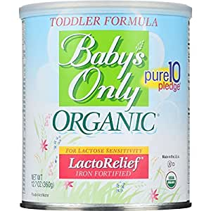 Amazon Com Babys Only Organic Toddler Formula Organic