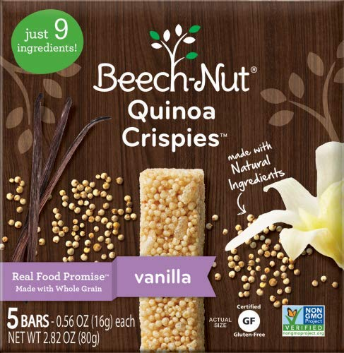 Beech-Nut Stage 3 Quinoa Crispies (Pack of 24)