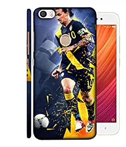 ColorKing Football Ibrahimovic Sweden 02 Grey shell case cover for Xiaomi Redmi Y1 / Note 5A / Note 5A Prime
