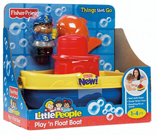 Fisher Price Little People Bathtub (Fisher-Price Little People Play 'n Float Bath Boat)