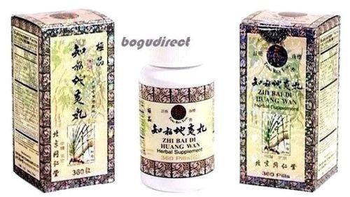 Beijing Tong Ren Tang Zhi Bai Di Huang Wan Eight Herbs RehmanniaTonic, 360 ()