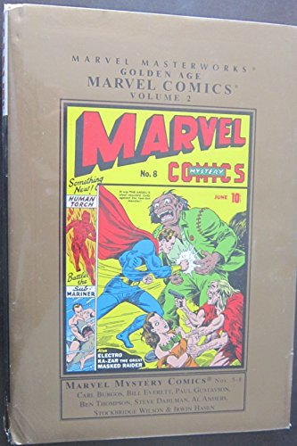 Marvel Masterworks: Golden Age Marvel Comics - Volume 2