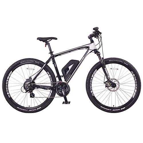 NCM Prague Electric Mountain Bike 468Wh 36V/13AH Matte Black 29""