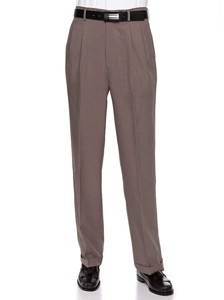 RGM Men's Work To Weekend Pleated Front Dress Pant PF891$PFBA