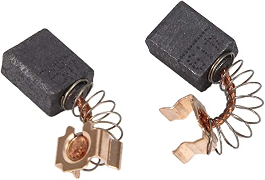 2 piezas Juego de escobillas de carb/ón del motor de repuesto para modelos 191962-4 Yctze Cepillo de carb/ón ABS