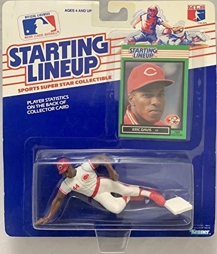 1989 KENNER STARTING LINEUP MLB ERIC DAVIS CINCINNATI REDS MOC