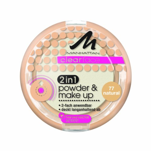 Manhattan CF 2in1 Powder und Make Up 77, 11 g