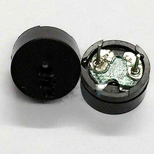 Xuanhemen 10pcs 5V Passive Buzzer Alarm Sounder Speaker Buzzer 16ohn AC/2KHz