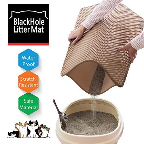 (Blackhole Cat Litter Mat - Large Size Rectangular 30