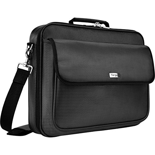 Targus Traditional Clamshell Case for 16-Inch Laptop with Zip-Thru Checkpoint Friendly Design, Black (TBC023US)