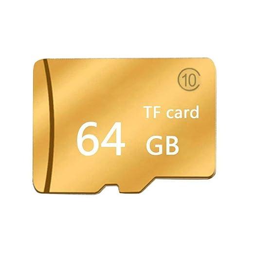 WOSOSYEYO Tarjeta de Memoria Gold Micro-SD SD TF Clase 10 ...