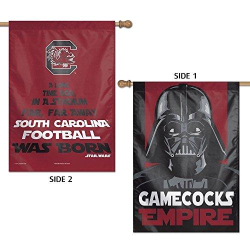 NCAA University of South Carolina 15850215 2 Sided Vertical Flag, 28