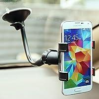 Suporte Veicular Universal para Celulares GPS Haste flexível Ventosa