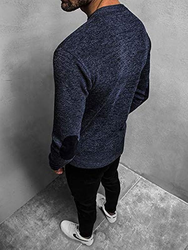 Moodoz HR/01833Z męski sweter z dzianiny: Odzież