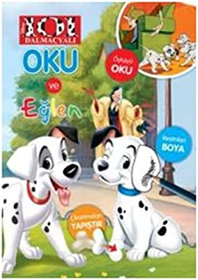 Amazon Com Disney 101 Dalmacyali Oku Ve Eglen 9786050935981