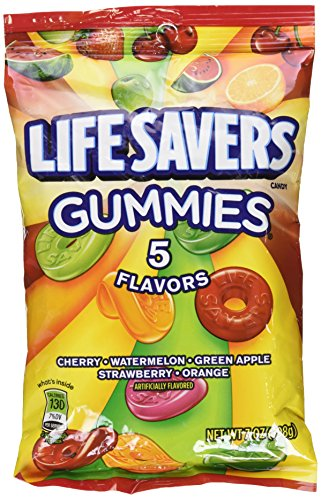 Lifesaver Gummies 7 oz pack of -