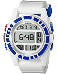 Nixon Mens Unit SW, R2D2 Japanese Automatic Rubber and Silicone Casual Watch, Color:White (Model: A197SW-2379...