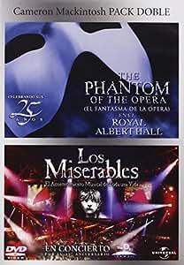 Pack: El Fantasma De La Opera + Los Miserables (Los Musicales) [DVD]