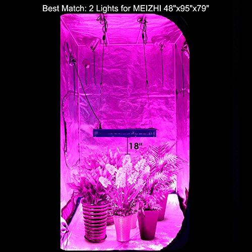 1200w Led Grow Light Meizhi Reflector Series Full Spectrum