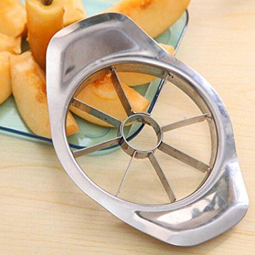Stainless Steel Kitchen Tool Apple Pear Fruit Easy Slicer Peeler Cutter Cut Tool - SoundsBeauty by SoundsBeauty (Image #5)
