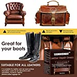 SEGMINISMART Crème Réparatrice Cuir,Kit Rénovation Cuir,Pâte Réparatrice Cuir,Adapté for Le Cuir Lisse/Chaussures/Sacs… 10