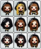 [SET of 9] SNSD - Run Devil Run KPOP Handmade Doll Keychains