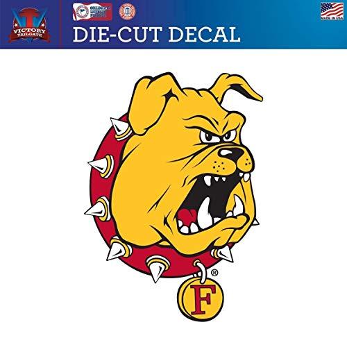 (Victory Tailgate Ferris State University Bulldogs Die-Cut Vinyl Decal Logo 2 (24 Inch))