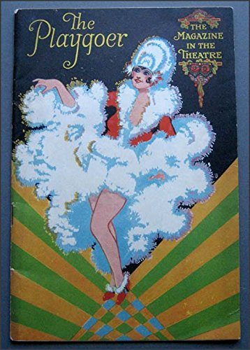 1928 The Playgoer, The Magazine in the Theatre Playbill with Wrigley Chewing Gum AD