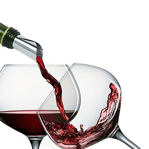 Navpeak Wine Drop Stop New Wine Pourer Drop Stop Reusable Spout Pack of Wine Tasting Party Gift 100 pcs by Navpeak