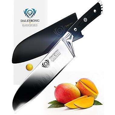 DALSTRONG Santoku Knife - Gladiator Series - German HC Steel - 7  (180mm)