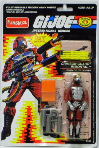 Crimson Guard Immortal GI Joe Action Figure by Funskool