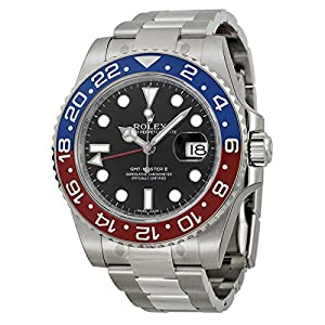 51dPmYE5wmL. SS300  - Rolex GMT-Master II White Gold Pepsi Red & Blue Ceramic Unworn 116719