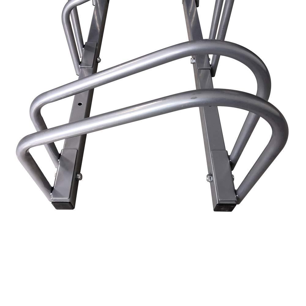 F/ür 6 Fahrr/äder AUFUN Fahrradst/änder Aufstellst/änder Fahrrad St/änder Boden Wand Montage Metall Platzsparend
