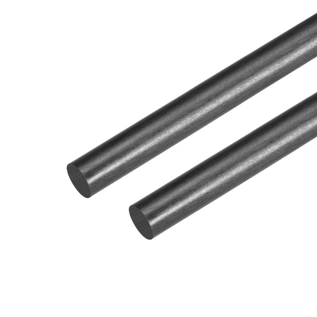 200mm 7.8 inch uxcell 8mm Carbon Fiber Bar For RC Airplane Matte Pole US 2pcs