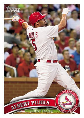 Set 2011 Topps Baseball Card - 2011 Topps Baseball Cards Complete 330 Card Set (Series 1) - Includes 30 Rookies, League Leaders, Record Breakers, MVP Winners, ROY Winners, and more!!
