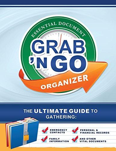 Grab N Go Essential Organizer: Gather Vital Info For Emergencies