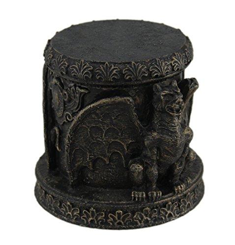 Zeckos Bronze Finish Gargoyle Lidded Trinket Stash Box
